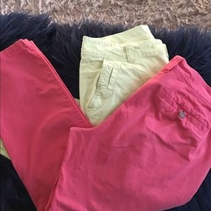 2 pair Old Navy size 8 pants